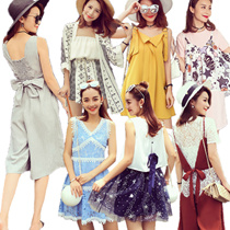 ★Opening new store★2016summer new dress collection(top+skirt)/two piece suit/wide pants/tulle skirt/skirt/denim/one-piece/knit/T-shirts/shirt /camisole/tops/suit