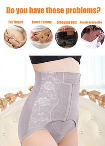 【SG STOCK/FREE SHIPPING/SALE!】Slimming Pants Beauty Pants Postpartum Butt Lifting Corset