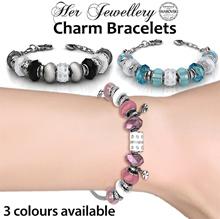 Crystals from Swarovski® - Her Jewellery Charm Bracelets - SG Seller - Ready Stock