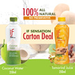 [IF LOCAL SENSATION] COCONUT WATER | ROASTED COCONUT WATER | WHITE GRAPE JUICE | CARTON DEAL