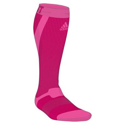 アディダス(adidas) techfit ハイソックス ITW42 S03332 ボールドPNK 【ウエア ソックス 靴下】の画像