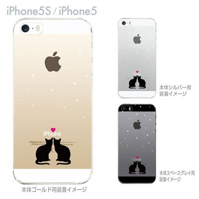 【iPhone5S】【iPhone5】【iPhone5sケース】【iPhone5ケース】【カバー】【スマホケース】【クリアケース】【クリアーアーツ】【ネコ】 22-ip5s-ca0087の画像