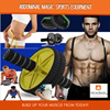 Abdominal magic sports equipment / wheel roll / push up bar / muscular /sports/handphone holder