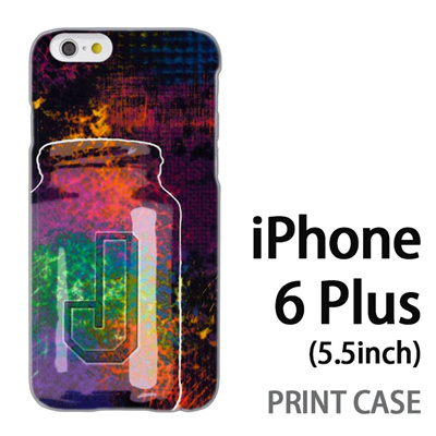 iPhone6 Plus (5.5インチ) 用『No1 J サイケデリックなビン』特殊印刷ケース【 iphone6 plus iphone アイフォン アイフォン6 プラス au docomo softbank Apple ケース プリント カバー スマホケース スマホカバー 】の画像