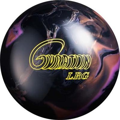 ABS(アメリカン ボウリング サービス) ジャイレーション(GYRATION) LRG BLACK/PURPLE/CARAMEL BK 【ボウリングボール ボーリング】の画像