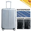 Happy Travel▶Water-Proof Luggage Cover◀GEA- Transparent/Convenient/Protective Cover Case/Suitcase Cover/Bag Protector