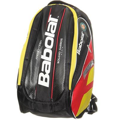 ◆即納◆バボラ(Babolat) バックパックチーム フレンチオープン限定モデル YEL×BLK×RED 753026 【テニス ラケットバッグ ケース】の画像