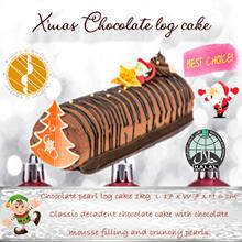 [Bread n Better] Christmas Chocolate Log Cake