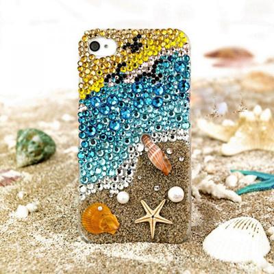 iphone5sケース 海の恵み iphone5sカバー アイフォン5sケース iphone5ケース スマホケース アイフォン5ケース スワロフスキー ブランド スマホカバー iPhone iphone5ケース かわいい デコ スマホ iPhone5カバー 人気 キラキラの画像