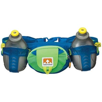 ネイサン(NATHAN) Trail Mix B11418000 N.BLUE/GECKOGREEN 600ml 【トレラン ハイドレーションベルト 水分補給ボトル バッグ】の画像