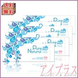 【送料無料】ピュアナチュラルワンデー(30枚入り)6箱/1日使い捨ての画像