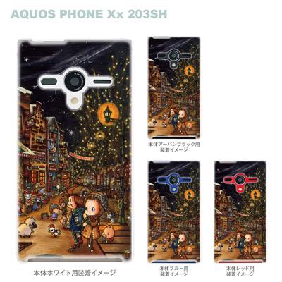 【AQUOS PHONEケース】【203SH】【Soft Bank】【カバー】【スマホケース】【クリアケース】【クリアーアーツ】【アート】【SWEET ROCK TOWN】 46-203sh-sh0018の画像