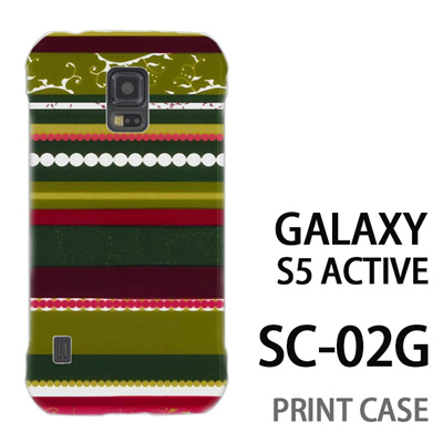 GALAXY S5 Active SC-02G 用『0707 アジアストライブ 緑』特殊印刷ケース【 galaxy s5 active SC-02G sc02g SC02G galaxys5 ギャラクシー ギャラクシーs5 アクティブ docomo ケース プリント カバー スマホケース スマホカバー】の画像