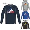 アディダス (adidas) Boys カントリー ビッグロゴ 長袖Tシャツ BUE76 [分類:長袖Tシャツ (ジュニア)]