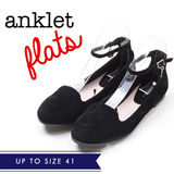 ★Basic Flats★ Match Anything!!! Size 36 - 41! 5 colours!