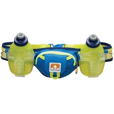 ネイサン(NATHAN) Trail Mix B11533000 N.BLUE/S.SPRING 600ml 【トレラン ハイドレーションベルト 水分補給ボトル バッグ】の画像