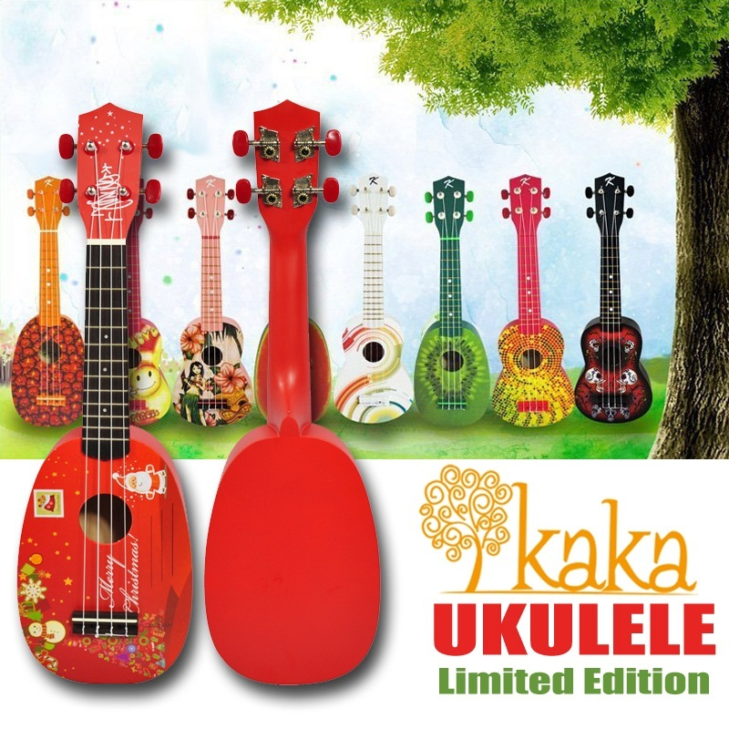 Qoo10 hari raya special kaka ukulele designer series for Decoration ukulele