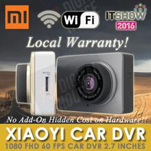 [XIAOYI CAR DVR ★ NETT ★] Xiaomi Yi 1080P FHD 30/60fps Car WiFi DVR 2.7 inches Screen[Export Set]