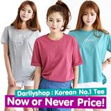 Super Time Sale!! ★darllyshop★  Fast Shipping! Korea Open Market Best Selling Tee