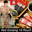 [正官庄][Korean Genuine Red Ginseng Every time] Extract Stick 10 Pouch / Descendants of the sun / Easy Portability 6 years old Red Ginseng Extract 10ml * 10 20 30 50 Pouch Packs Ssaponine Korea