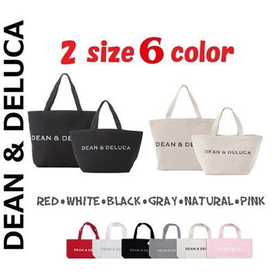 送料無料!ニューヨークで大人気のDEAN&DELUCA 6colours S/Mサイズ  トートバック ミニバッグ ディーン&デルーカ エコバッグ 母の日の画像