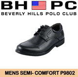 [BHPC] Beverly Hills Polo Club - Mens SHOES P9802. Available: BLACK. Guaranteed 100% Authentic Local Seller