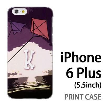iPhone6 Plus (5.5インチ) 用『No1 K 空に上がるタコ』特殊印刷ケース【 iphone6 plus iphone アイフォン アイフォン6 プラス au docomo softbank Apple ケース プリント カバー スマホケース スマホカバー 】の画像