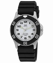 Q&Q 腕時計  キューアンドキュー 腕時計 SOLARMATE (ソーラーメイト) ソーラー電源 アナログ表示 10気圧防水 ホワイト H950J003 メンズ 【メール便】