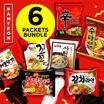 [RAMYEON] 【5-6 PACKETS FOR $7.90】KOREA BEST 7 FLAVOURS!!! | Spicy Chicken Ramyeon | Shrimp Shin Ramyeon | Sari Gom Tang | Koko Ramyeon | Su Ta Ramyeon | Kimchi Ramyeon | Spicy Seafood Ramyeon