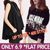 s$6.9 Flat Price Collection Plus size Promote  S-7XL dress /dresses/tops/blouse/shorts