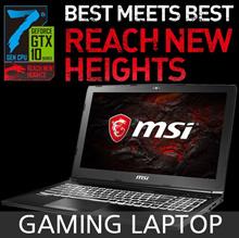 [MSI] Gaming Laptop / GL62M 7REX-i7 / GeForce GTX 1050 Ti / DDR4 8GB / IPS Level Panel