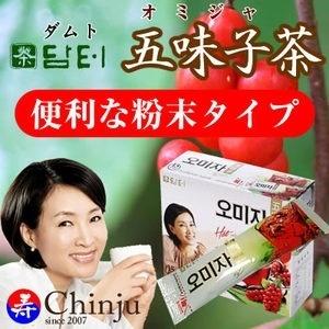ダムト 五味子茶(オミジャ茶) 1箱 18g×15包 【粉末タイプ】の画像