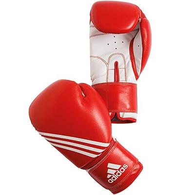 アディダス(adidas) 'Training' Boxing glove レッド 12oz ADIBT02 【ボクシンググローブ ムエタイ キックボクシング パンチンググローブ トレーニング】の画像