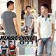 [BUY 2 ONE SHIPPING FEE]New Arrival! MENS T-SHIRTS/ POLO T-SHIRTS/ Stylish Look/ Short sleeve T-shirts/Mens Tops