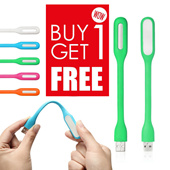 [PROMO BUY 1 GET 1 ] LAMPU USB LED Light Fleksibel Flexible model Stick Sikat Gigi