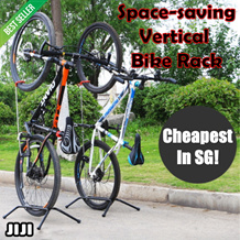 [LOCAL FAST SHIPPING!] Single Vertical Bike Rack * Easy Assembly * Fit for all bikes! [TVADS TV-ADS]