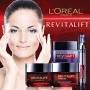 U.P$49.90! L'Oréal Revitalift-Laser X3 Anti-Aging Power Cream/Night Cream/Mask/Revolumizing Serum