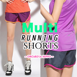 ★MULTI RUNNING SHORTS DRY FIT WITH POCKETS SPANDEX LOCAL SELLER NETT PRICE/ FREE DELIVERY/ WOMEN FASHION PREMIUM Quality ★