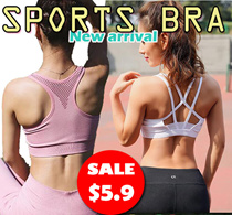 【Moving Peach】Wholesale SPORTS BRA Gym Running Bra Premium Ladies Wireless bra/yoga bra/sleeping Sup