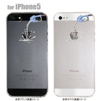 【iPhone5S】【iPhone5】【Clear Arts】【iPhone5ケース】【カバー】【スマホケース】【クリアケース】【アップルにガソリン】 06-ip5-ca0030の画像