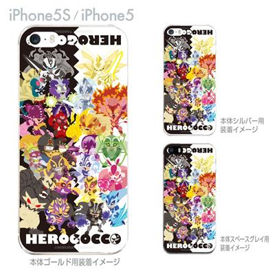 【iPhone5S】【iPhone5】【HEROGOCCO】【キャラクター】【ヒーロー】【Clear Arts】【iPhone5ケース】【カバー】【スマホケース】【クリアケース】【アート】 29-ip5s-nt0031の画像
