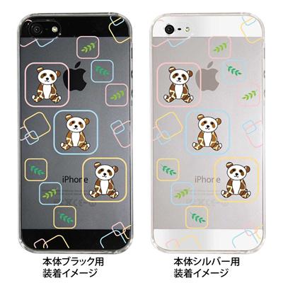 【iPhone5S】【iPhone5】【Clear Arts】【iPhone5ケース】【カバー】【スマホケース】【クリアケース】【アニマル】【パンダ】 22-ip5-ca0054の画像