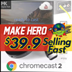 [Authentic] Google ChromeCast 2 | AnyCast M2 Plus | TV hdmi streamer | android tv | While Stock Last