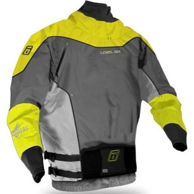 レベルシックス(LEVEL SIX) Mack 2.0 Riverstone/Bright Yellow/Tin M LS13A000000241 【カヌー カヤック ドライスーツ】の画像