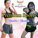 Black Friday Sales =SweetangelShop= Sports Shorts Skirts Skorts with or without inner tights Running Gym Yoga shorts Local Seller Local Exchange