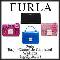 Furla Sales! Bags Cosmetic Case and Wallets (14 Options)
