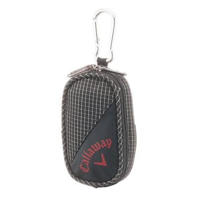 キャロウェイ (Callaway) Active Tee Case 15JM(アクティブティーケース)チェック×ブラック 5915251 [分類:ゴルフ ティー・その他]の画像