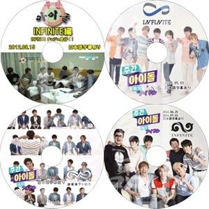 INFINITE インフィニット 週間アイドル Weekly Idols 4枚セット DVD ◆K-POP DVD◆の画像