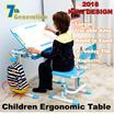 Children Ergonomics Study Table and Chair Newly Added Features Children Ergonomics Study Desk and Chair Set