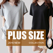 【July 29th】400+ style 2016 S-7XL NEW PLUS SIZE FASHION LADY DRESS OL work dress blouse TOP pants short GSS